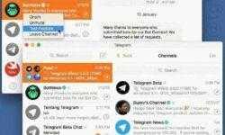 В бета-версии Telegram для macOS появилась группировка каналов в «новостную ленту»