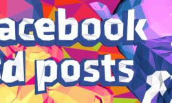 [Из песочницы] 3D посты в Facebook: что и как