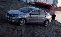 Lada Vesta впервые стала самым продаваемым автомобилем в России