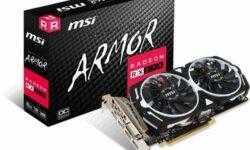 MSI выпустила ускоритель Radeon RX 570 Armor 8G OC