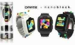 Omate x Nanoblock: детские смарт-часы с ремешком в стиле LEGO
