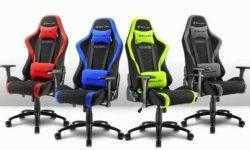 Sharkoon Skiller SGS2: комфортное игровое кресло в четырёх вариантах расцветки