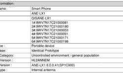 Смартфон Huawei P20 Lite получит необычный дисплей с соотношением сторон 19:9
