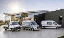 У Mercedes-Benz Sprinter появится электрическая версия