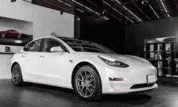 В Москве состоялась презентация «народного» электромобиля Tesla Model 3