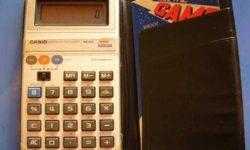 Casio перевыпустит музыкальный калькуляторMG-880
