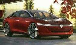 Электрокар на основе концепта Volkswagen I.D. Vizzion выйдет к 2022 году