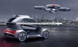 Фото дня: гибрид робомобиля и дрона в представлении Audi, Italdesign и Airbus