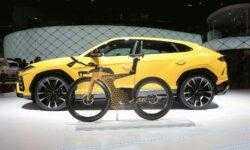 Фото: гоночный велосипед Lamborghini