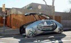 Фото: концепт самоуправляемой «маршрутки» Renault EZ-GO