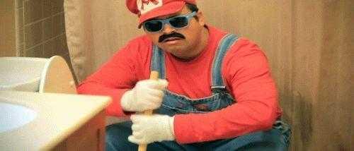 Фото Герой Марио снова получил работу