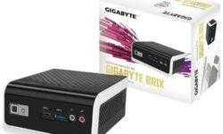 GIGABYTE оснастила бесшумный мини-компьютер процессором Intel Gemini Lake