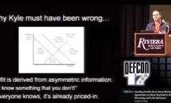 Конференция DEFCON 17. «Украсть прибыль у спамеров: как я перестал беспокоиться о спаме и полюбил его». Грант Джордан