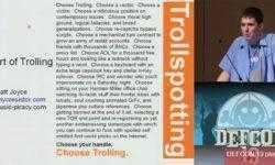 Конференция DEFCON 19. «Искусство троллинга». Мэтт «Опенфлай» Джойс