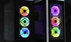 Корпус Lian Li Alpha 550 RGB оснащён тремя вентиляторами Bora с подсветкой