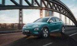 Кроссовер Hyundai Kona Electric обладает запасом хода до 470 км