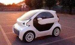 LSEV: первый в мире серийный электрокар с «напечатанным» кузовом