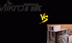 Mikrotik vs Старый ПК, проблема выбора в малом предприятии