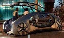 Renault EZ-GO: электрический робомобиль для райдшеринга