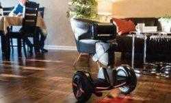 Робот-гироскутер появится в продаже этой весной