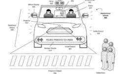 Uber хочет научить самоуправляемые автомобили «общаться» с пешеходами с помощью огней и звуков