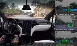 Видео: как Tesla Autopilot среагирует на имитацию аварии Uber