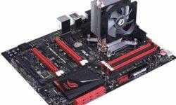 Высота процессорного охладителя ID-Cooling SE-812i составляет 120 мм