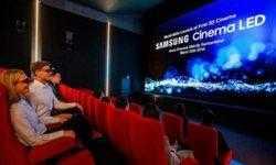 Заработал первый в мире кинозал с 3D-экраном Samsung Cinema LED