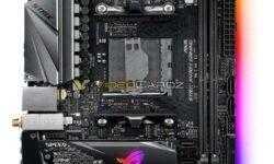 ASUS готовит плату ROG Strix X470-I Gaming для компактных систем