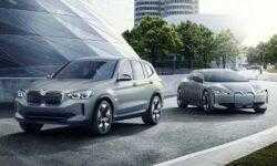 BMW представила полностью электрический кроссовер iX3