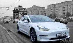 Двухмоторный электромобиль Tesla Model 3 выйдет летом