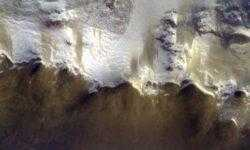 Фото дня: Красная планета глазами орбитального модуля миссии «ЭкзоМарс»