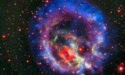 Фото дня: мёртвая звезда в завораживающем окружении