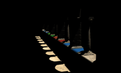 Глобальное освещение с использованием трассировки вокселей конусами