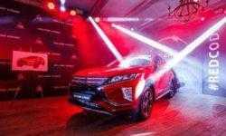 Кроссовер Mitsubishi Eclipse Cross дебютировал в России