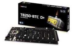 Майнерам посвящается: системная плата Biostar TB250-BTC D+