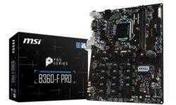 Майнинг-плата MSI B360-F PRO наделена 17 разъёмами PCIe 2.0 x1