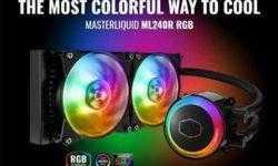 MasterLiquid ML120R/ML240R — первые процессорные СЖО Cooler Master с пиксельной подсветкой