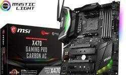 Плата MSI X470 Gaming Pro Carbon AC поддерживает Wi-Fi и Bluetooth
