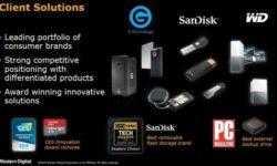 Средняя цена реализации жёстких дисков Western Digital увеличилась более чем на 10 %