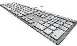 Высота клавиатуры Cherry KC 6000 Slim не превышает 15 мм