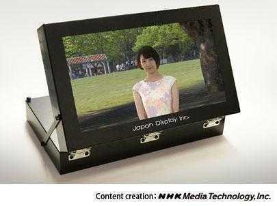 Прототип 17-дюймового стереоскопического дисплея JDI (Japan Display)