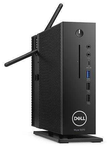 Фото Dell Wyse 5070 — тонкий клиент с обилием интерфейсов и SoC Gemini Lake
