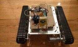 [Из песочницы] Робот-танк на Raspberry Pi с OpenCV