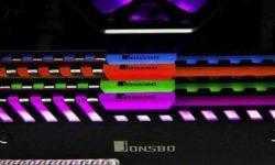 Jonsbo NC-2: радиаторы охлаждения для модулей ОЗУ с многоцветной подсветкой