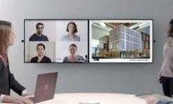 Microsoft представила новую версию офисного моноблока Surface Hub с экраном 50,5 дюйма