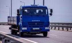 На автоподходе к Крымскому мосту успешно испытаны российские робомобили