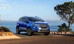 Новый кроссовер Ford EcoSport вышел в России по цене от 959 тыс. рублей