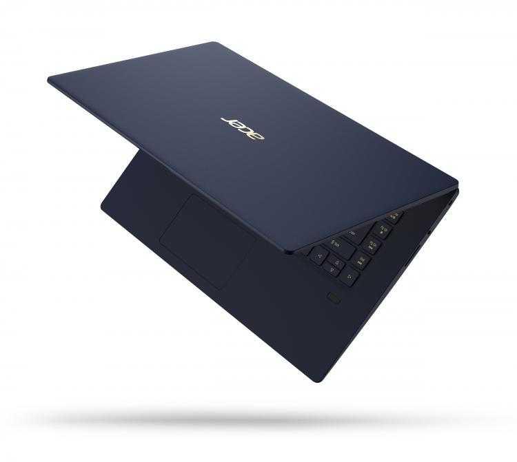 Фото Обновлённый ноутбукAcer Swift 5 с 15,6-дюймовым экраном весит менее килограмма