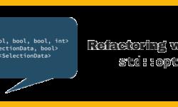 [Перевод] Рефакторинг с использованием C++17 std::optional